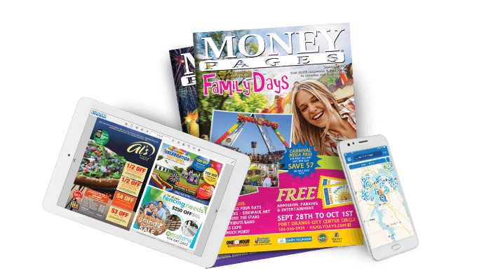 Money Pages products